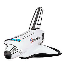 OUTER SPACE PARTY Inflatable Space Shuttle Rocket 35cm Pack of One Free Postage