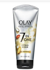 Olay Total Effects 7-in-1 Refreshing Citrus Scrub Facial Cleanser, 5 OZ