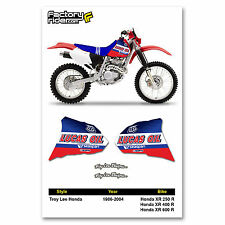 1986-2004 HONDA XR 250R/400R/600R  TLD Dirt Bike Graphics Motocross by Enjoy MFG