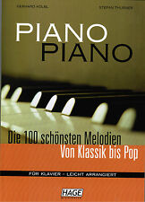 Klavier Noten : PIANO PIANO Band 1 Ausgabe: LEICHT - HAGE EH 3633