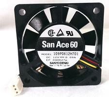 San Ace 109P0612H701 60mm x 15mm 4100 RPM 3PIN FAN