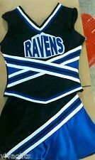 IN STOCK NOW!! RAVENS ONE TREE HILL Cheerleader Costume sz  10