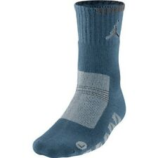 Nike Jordan Performance Boot Crew Socks Utility Blue 507959-422 1 Pair M 6-8