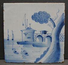 Dutch Antique Scenic Tile