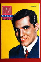 JOHN GAVIN ON COVER 1960 RARE EXYU MAGAZINE