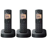 Panasonic KXTGC313EB Triple Digital Cordless Phone with Nuisance Calls Block