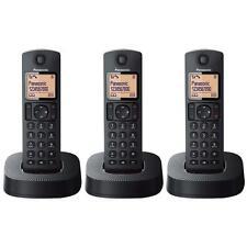 Panasonic kxtgc313eb TRIPLE digitale cordless telefono con le chiamate importune blocco
