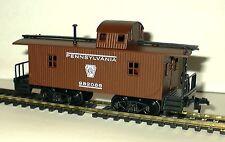 Ho Scale Trains Model Power Pennsyvania Wood Caboose 9141