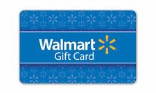 Walmart $ 75.00 Gift Card