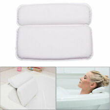 Relux Premium Waterproof Bath Pillow Cushion With Non-slip Suction Cups Home Spa