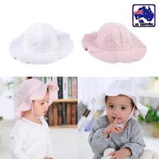 Bucket Bonnet Hat Summer Cap Toddler Baby Girl Kids Beach Sun Outdoor CAHA989