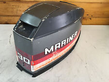 1982 Mariner 30 HP Outboard Hood Top Cowl Cowling Shroud Freshwater MN