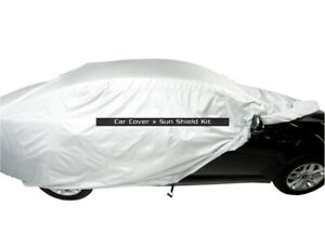 MCarcovers Fit Car Cover + Sun Shade for 1987-1993 Mitsubishi Precis MBSF_6488