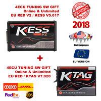 NEW KESS V2 + KTAG TUNING KIT MASTER VERSION ECU NO TOKEN LIMITED VERSION EU