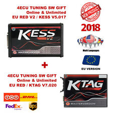 NEW KESS V2 + KTAG TUNING KIT MASTER VERSION ECU NO TOKEN LIMITED VERSION EU