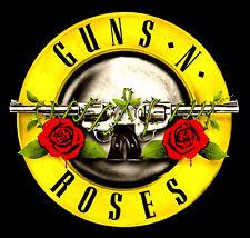 "2.5"" GUNS N ROSES vintage 1980's style vinyl bumper sticker. For guitar or bong."