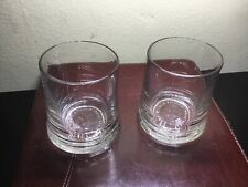 CAMUS COGNAC GLASSES SET OF TWO ( 2 ) -GLASS - BRAND NEW