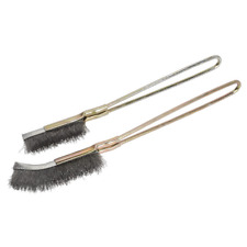 WB06 Sealey Tools Wire Brush Set 2pc [Wire Brushes] Wire Brushes Brushes, Wire