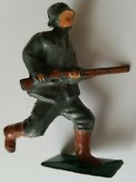 AMERICAN METAL CO. lead toy soldier RARE #AM2 GERMAN Barclay Manoil