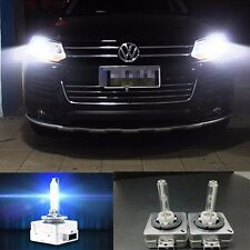 2x Xenon HID Bulbs D3S 6000K For Audi A3 A4 A5 A6 S Line Q5 Q7 B8 Headlights