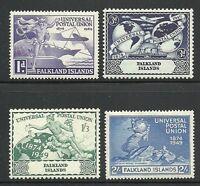 Album Treasures Falkland Islands Scott # 103-106 UPU Mint NH/LH