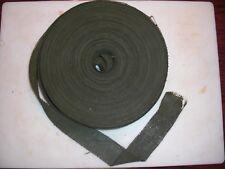 "300 feet of Orig. WWII US Army Dark Green Camouflage 2"" Burlap - helmets & Nets"