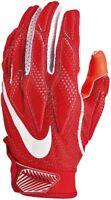 New Nike Men's Superbad 4.5 Football Gloves Red/Red/White PGF938-663