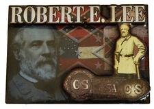 Civil War ACW New General Robert E Lee 2D Coloured Fridge Magnet Gettysburg CSA