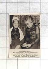 1921 Mrs Spurgeon, Aunt Of Preacher, 102nd Birthday, Norwood