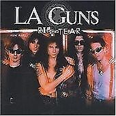 L.A. Guns : Rip and Tear Just Disk And Back Cover