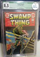 Swamp Thing #3 1973 CGC 8.5 Signed By Bernie Wrightson!