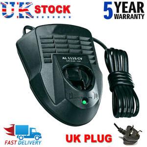 10.8V Li-Ion Battery Charger for Bosch Electric AL1115CV AL1130CV BAT411 UK Plug