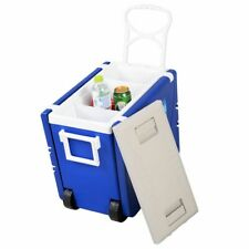 Multi Functional Rolling Picnic Cooler w- Table & 2 Chairs