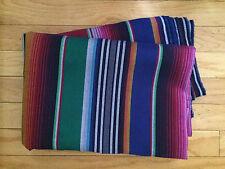 1 yard Mexican Sarape Serape Fiesta Fabric Quilt Fabric  Blue