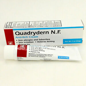 3x Quadrydern NF Skin Allergies Cream Quadrydern Crema