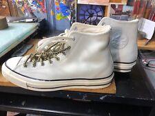 Converse CTAS 70 Hi White/Egret Leather Size US 9.5 Men153024C Chuck Taylor