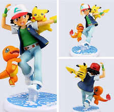 "10cm/4"" Pikachu Pokemon Figure Pvc dolls toys Decorative furnishing articles Toy"