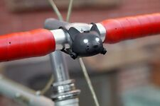 Kikkerland Talking Cat Bike Claro / Hablador Gatos Luz de la bicicleta NUEVO