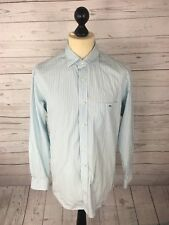 LACOSTE Shirt - Medium - Striped - Great Condition