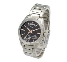 -Casio MTP1370D-1A2 Men's Metal Fashion Watch Brand New & 100% Authentic