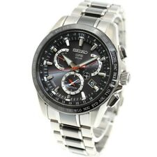 SEIKO ASTRON Watch GPS Solar Dual Time SBXB041 Men's Made in Japan from japan