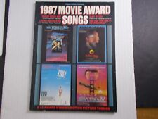 * 1987-Movie Award Songs- Songbook-Top Gun-Star Trek-Karate Kid + More