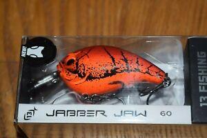13 Fishing Jabber Jaw 60 Hybrid Squarebill Crankbait (Mud Bug Punch) NIP