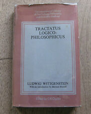 TRACTATUS LOGICO PHILOSOPHICUS Ludwig Wittgenstein -1st HCDJ 1971 - Philosophy