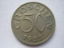 Austria 1935 50 Groschen, GEF.