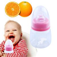 60ml 2oz Baby Mini Bottles Infant Newborn Feeding Bottle Silicon Nursing Nipple