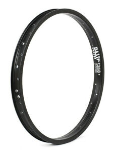 "RANT SQUAD BMX BIKE 20"" RIM DOUBLE WALL CULT HARO SHADOW SUBROSA GT KINK BLACK"