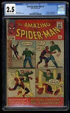 Amazing Spider-Man #4 CGC GD+ 2.5 Off White to White 1st Print 1st Sandman!
