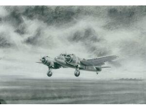Original Charcoal / Chalk - Bristol Beaufighter Plane Kenneth Aitken - Aviation