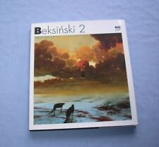 Zdzislaw Beksinski 2 English-Polish Album Painting Zdzisław Beksiński